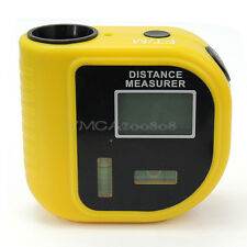 Ultrasonic Laser LCD Beam Pointer Digital Tape Measure Range Distance Meter Tool