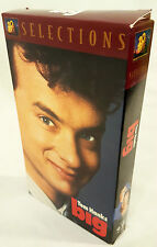 BIG With Tom Hanks Penny Marshall 1988 VHS Tape Classic Comedy Elizabeth Perkins