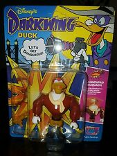 1991 NIP Darkwing Duck Launchpad McQuack Playmates Figure Unpunched Card