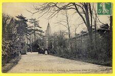 cpa 75 - PARIS Le BOIS de BOULOGNE CHÂTEAU de BAGATELLE et Porte de Sèvres animé
