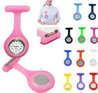 Stylish Hot New Silicone Nurse Doctor Medical Watch Brooch Tunic Fob Candy Color