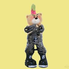 BAD TASTE BEARS GUN METAL RAZOR -RARE- XL BEAR 13 PUNK MOHAWK - MORE IN SHOP