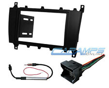 2005-2007 C-CLASS DOUBLE 2 DIN CAR STEREO DASH KIT W/ WIRING HARNESS & ANTENNA