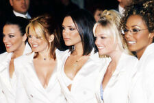 Spice Girls 11x17 Mini Poster in sexy busty outfits Victoria Beckham Posh Ginger