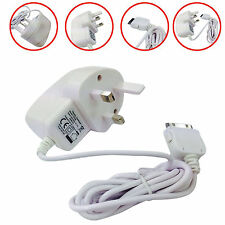 For iPad 2 iPhone 3G 3GS 4G 4S 3 Pin Wall Mains Travel Charging Charger Plug UK