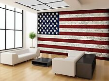 USA Flag United States Of America Wall Mural Photo Wallpaper GIANT WALL DECOR