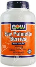 Now Foods, Saw Palmetto bayas (Serenoa repens) - 550mg x250caps