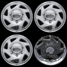 "New Set of 4 FORD Truck Van 16"" 8 Lug Full Wheel Covers Hub Caps fits Steel Rim"