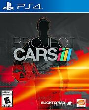 Project CARS - PlayStation 4 Brand New Ps4 Games Sony Factory Sealed