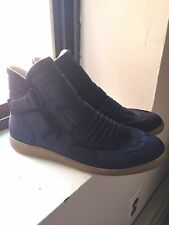 NEW Martin Margiela Sneakers High Top Suede 46 Black