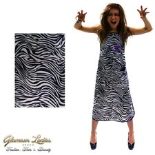 Zebra Print Tinintg Hairdressing Apron Water & Tint Repellant, Four Pockets