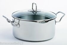 Norpro 645 Krona 5qt Stainless Steel Pot With Straining Lid