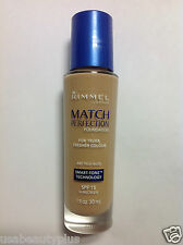 Rimmel London, Match Perfection Foundation, Smart-Tone Tecnology #320 TRUE NUDE