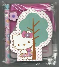 Sanrio Hello Kitty Notepad Set With Pencil Eraser Notepad Tree