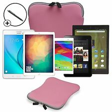 "Forefront Cases® 9"" & 10"" Splashproof Neoprene Tablet Sleeve Case Cover + Stylus"