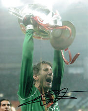 Edwin Van Der SAR Signed Autograph Photo AFTAL COA Champions League Winner