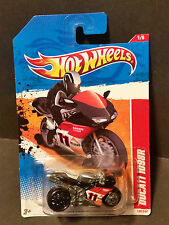 2011 Hot Wheels #199 Thrill Racers Volcano 1/6 - Ducati 1098R - Black