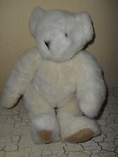 Authentic VERMONT White Gold Teddy Bear