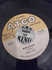 ADA LEE - MOANIN' - POPCORN /JAZZ /  R&B 45  - ATCO