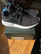 Adidas NMD_XR1 PK Shoes Black & Blue (receipt Included)