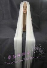 Popular Popular Extra Long white Cosplay Wig - 60 inch High Temp 150cm