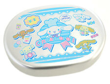 Made in Japan Cinnamoroll Aluminum Bento Lunch Box Snack Container with Divider