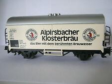 Märklin HO Bierwagen Alpirsbacher Klosterbräu (RG/RD/269-6S3/5/1)