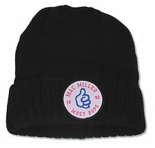 "MAC MILLER ""PATCH"" BEANIE HAT NEW OFFICIAL"