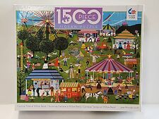 CEACO® 1500pc JANE WOOSTER SCOTT • CARNIVAL TIME AT WILLOW BEND PUZZLE Jig Saw