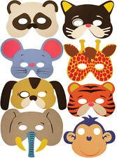 8x maschere di animali in schiuma-Pinata Giocattolo Bottino/Party Bag Filler nozze/compleanno Kidz