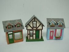 """ARTISAN GAIL WISE DOLLHOUSE MINIATURE WOOD HOUSES TIGER BELLS TOYS & MORE 4.5"""""""