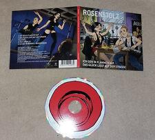 Single CD Rosenstolz Ich geh in Flammen auf Das Glück liegt auf der Strasse 95