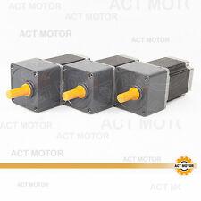 ACT Motor GmbH 3Stück Nema23 Geared Motor 23HS8430AG15 4Leitungen 3A 1.4N.m 15:1