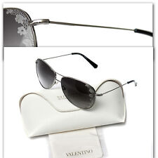 $460 VALENTINO Ladies ETCHED METAL SUNGLASSES w/ Certificate