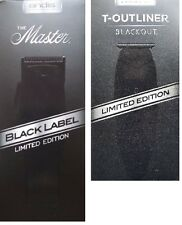 Andis BLACK LABEL ML Master Clipper 1705 + BLACK T-Outliner 05110LIMITED Editio