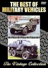THE BEST OF MILITARY VEHICLES - VINTAGE COLLECTION - DVD - FREE POST IN UK