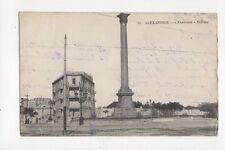 Alexandria Khartoum Column Egypt 1918 Vintage Postcard 139a