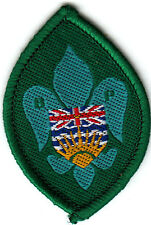 Boy Scout Badge TENDERFOOT B-P Assn BC Canada