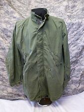 Vintage M65 Fishtail Parka Jacket  Original Medium Extreme Cold Weather #02