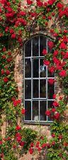 """Infrarotheizung Glas rahmenlos, 900 Watt, Motiv """"Rosenfenster"""""""