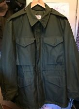 Vintage 50s KOREA War US Army Military Shell Field M-1951 Uniform Coat Jacket.