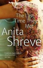 The Last Time They Met by Anita Shreve (Paperback, 2001)