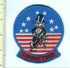 Military Patch USN F-14 VF-14 Tophatters Squadron