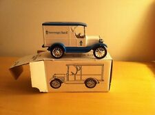 "1994 ERTL ""SOVEREIGN BANK"" 1923 1/2 TON TRUCK DIECAST BANK, 1:25 SCALE MIB"