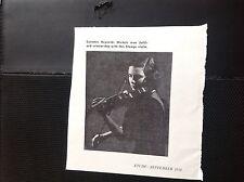N1-7 Ephemera 1950 picture lurames Reynolds Michels  violinist