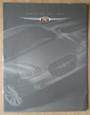 CHRYSLER LHS orig 1999 sales brochure for Canada