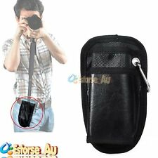 Portable Waist Bag Case Pouch With Hook Buckle For Support Camera Monopod Tripod