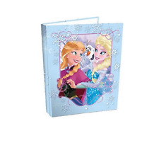A4 2 RING BINDER Paper Storage Presentation Display File Folder Frozen Anna Elsa