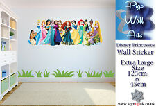 Disney Princesses wall sticker children's bedroom large wall decal.