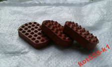 New Good Quality Pedal Rubbers Dnepr MT Ural 3 pieces.